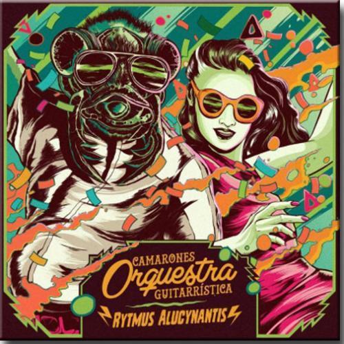 Vinil Camarones Orquestra Guitarrística - Rytmus Alucynantis