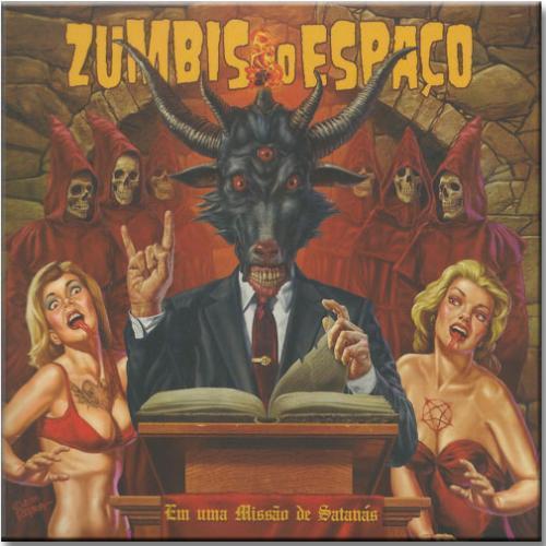 Vinil Zumbis do Espaço - em Uma Missão de Satanás