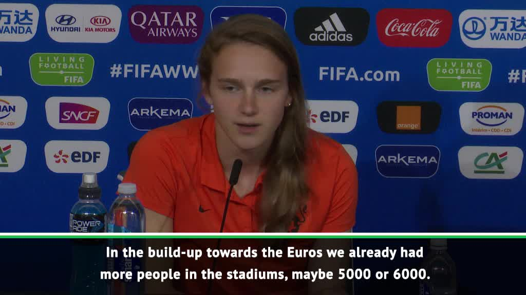 Euro Championship and World Cup key to Netherlands growth - Miedema