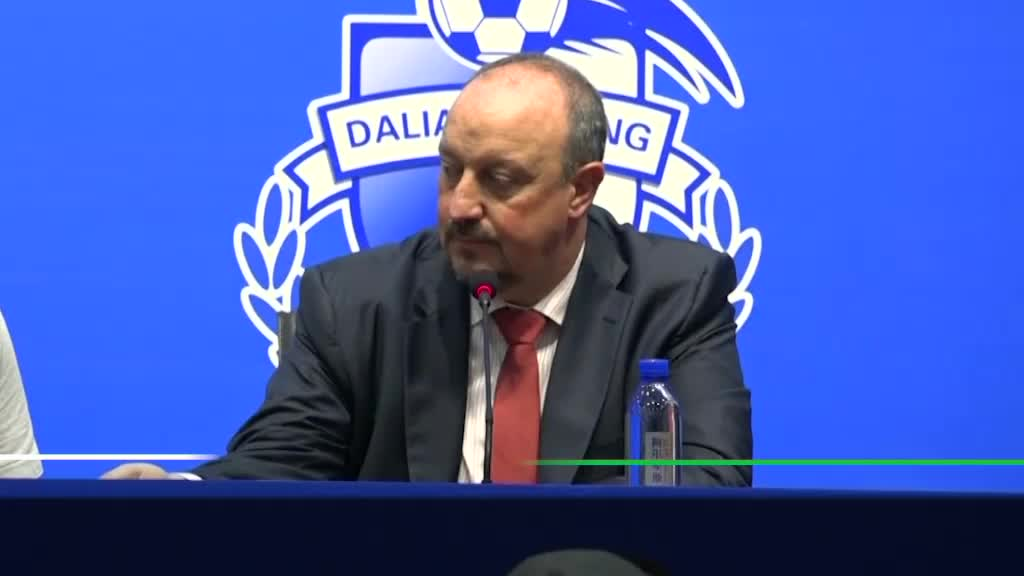 Benitez 'sold' by Dalian Yifang project