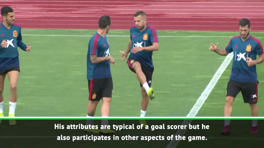 We will always pick in-form strikers - Moreno on Alcacer