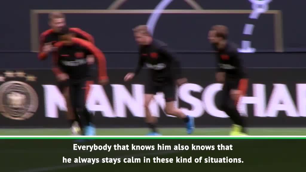 De Ligt is as calm as he normally is- Van Dijk