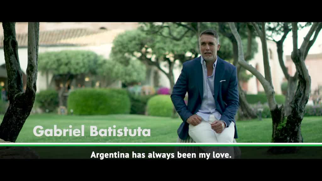 Batistuta looks back on Argentina career