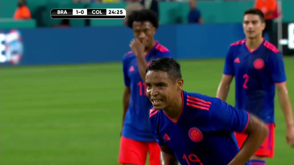 Brazil 2-2 Colombia