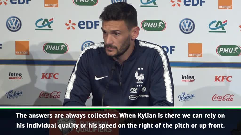 We must find collective answers for Mbappe's absence - Lloris