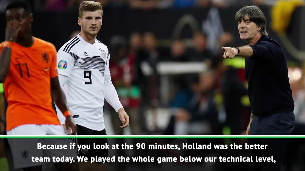 Defeat a fair result for Germany - Low