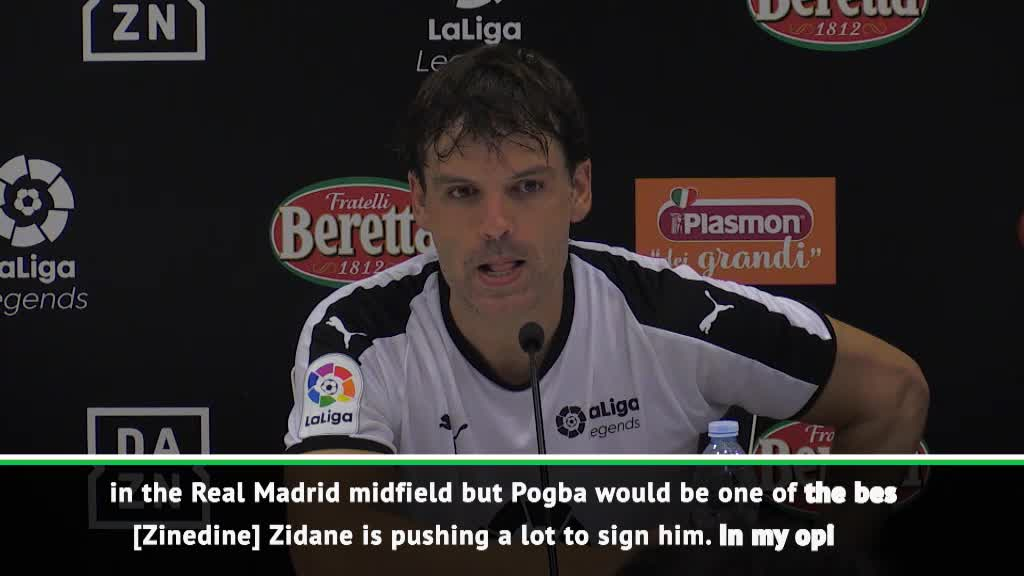Zidane is pushing to sign Pogba - Morientes