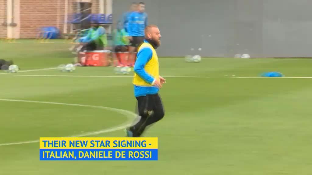 De Rossi trains with new club Boca Juniors