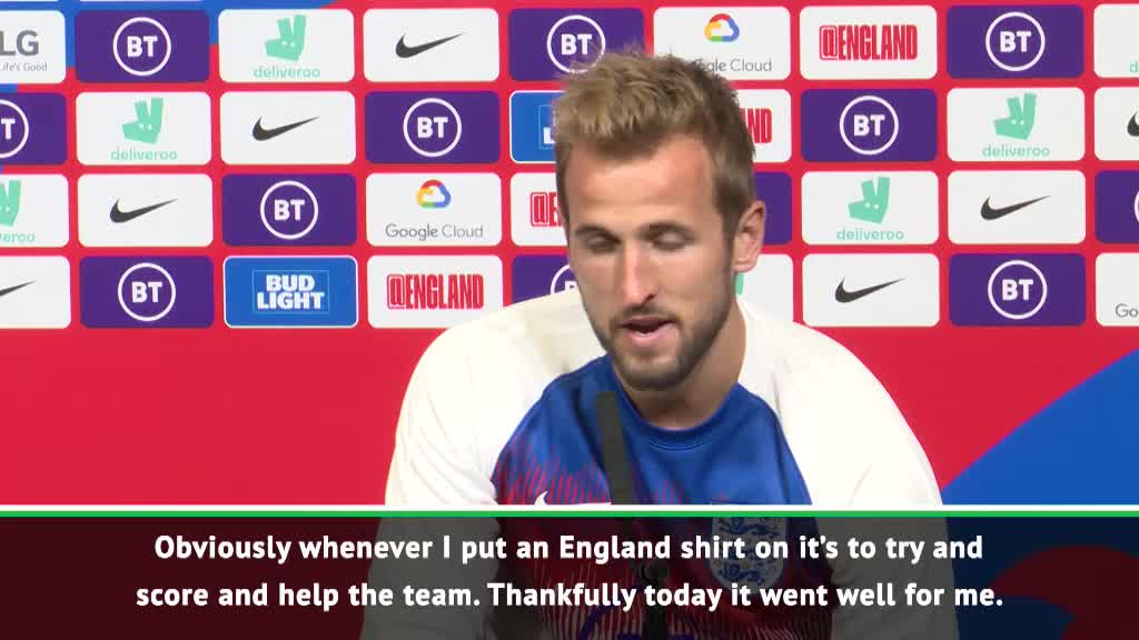 My hard work is paying off - Kane after hat-trick