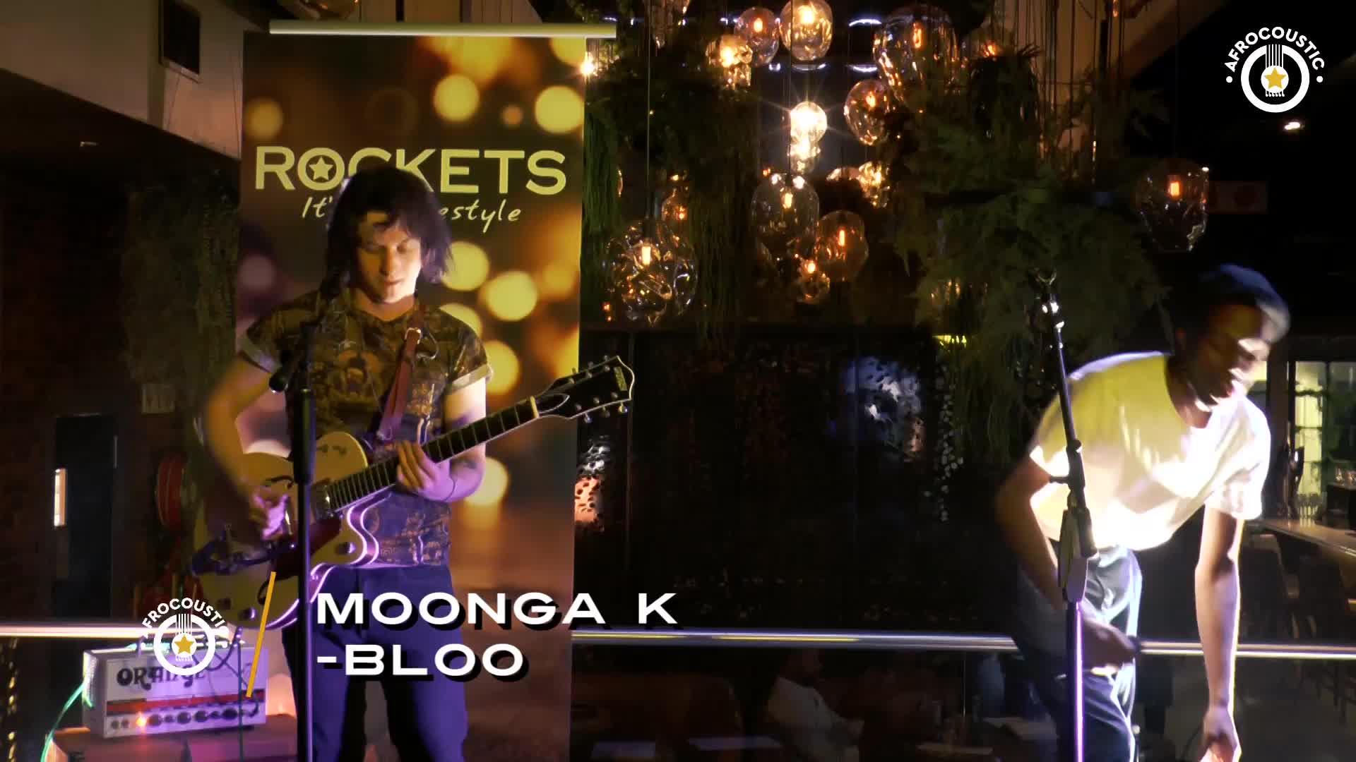 Affrocoustic - Moonga K - Bloo
