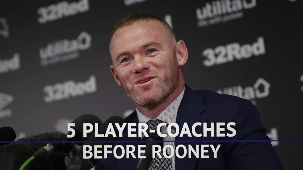 Top 5 player-coaches before Wayne Rooney