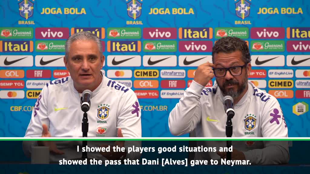 Brazil's stars have a strong relationship - Tite