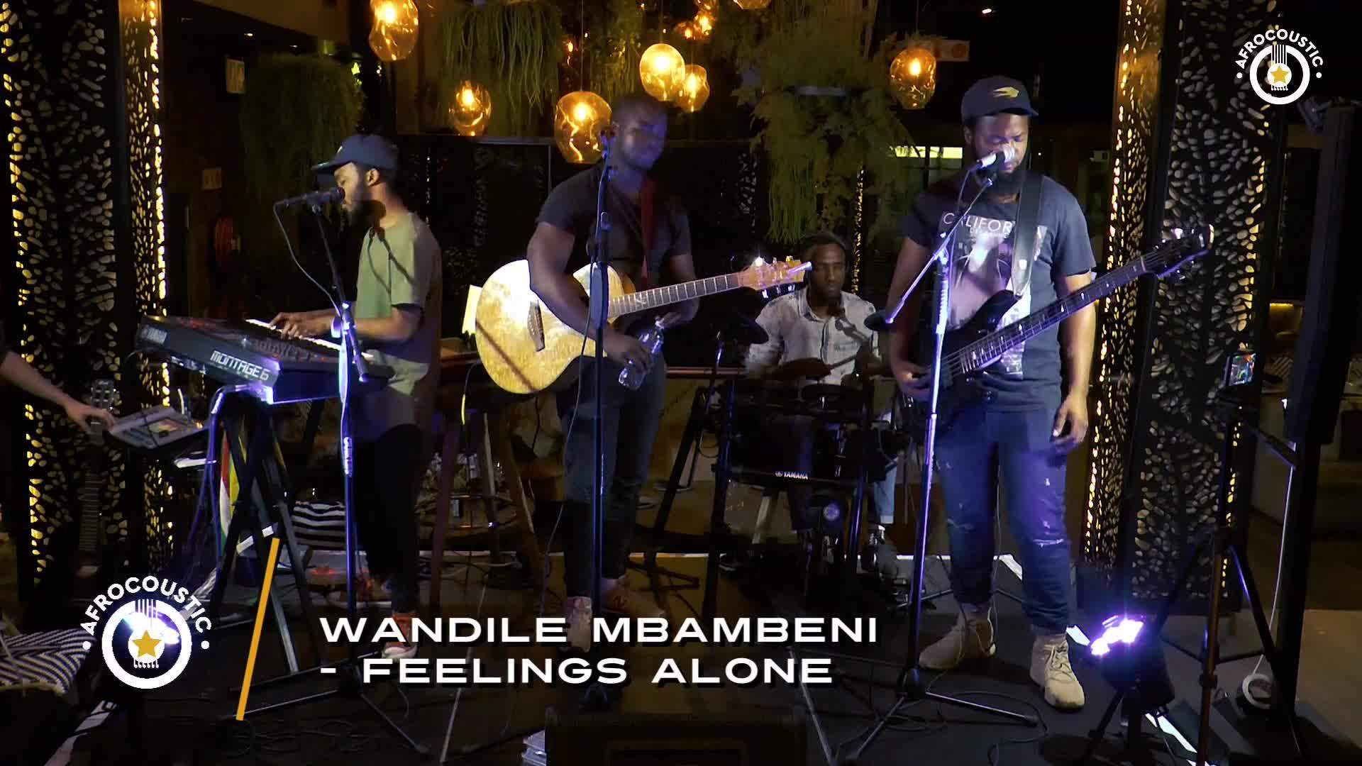 Affrocoustic - Wandile Mbambeni - Feelings Alone
