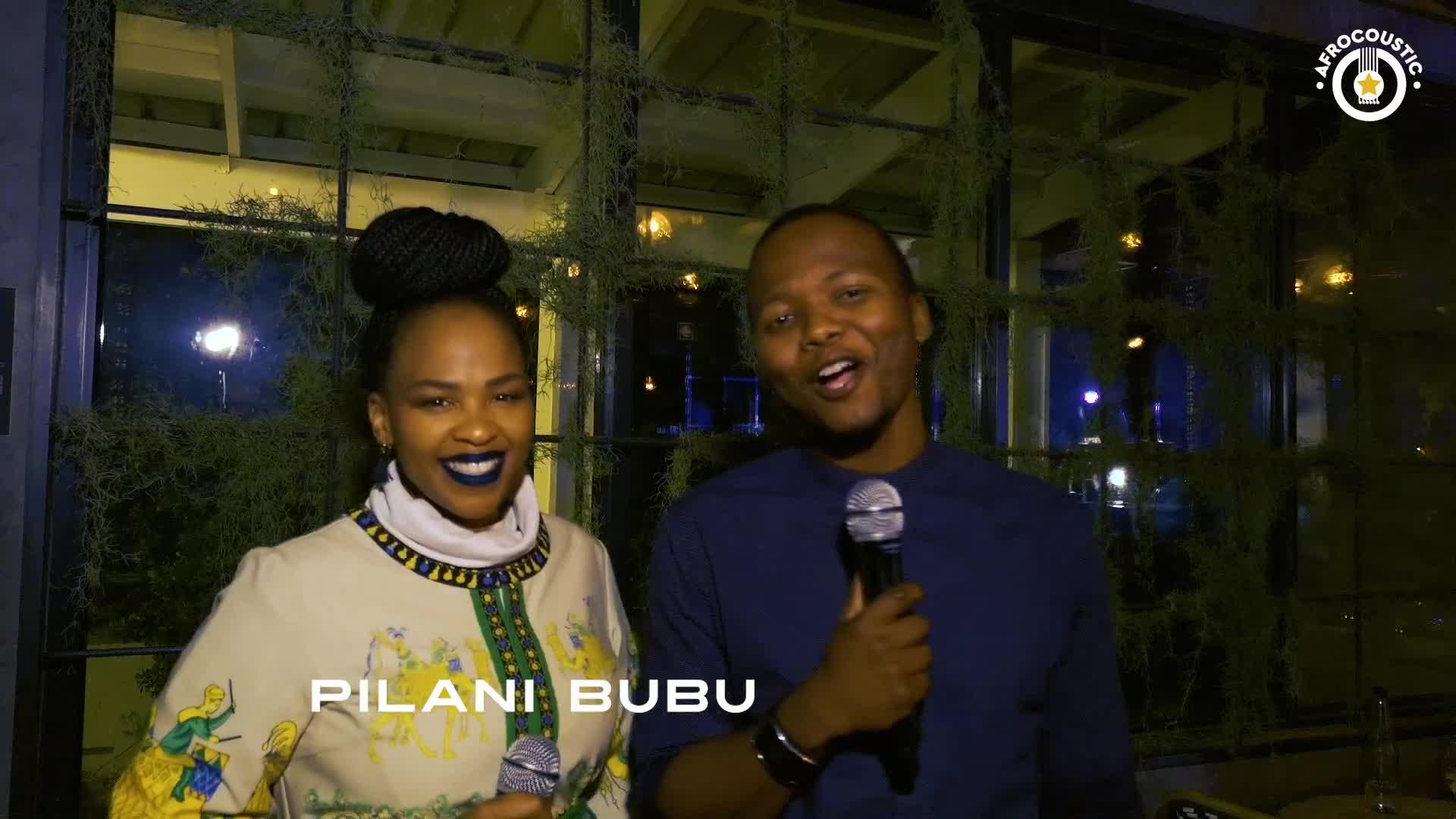 Afrocoustic - Pilani Bubu - Interview