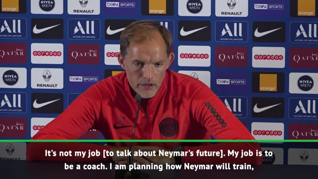 It's not my job to discuss Neymar's future - Tuchel