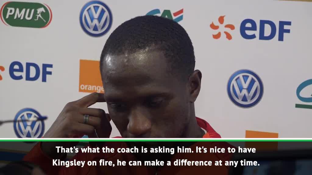 Sissoko, Lloris hail 'on fire' Coman
