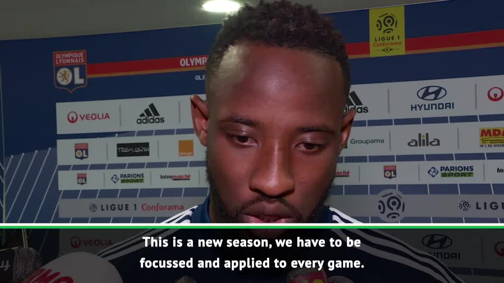 Lyon's Dembele not thinking about personal goal tally