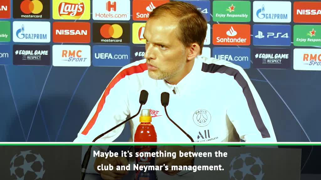 Neymar and I have no issue - Tuchel