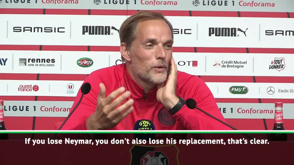 FOOTBALL: Ligue 1_ Neymar won't leave PSG without a replacement - Tuchel