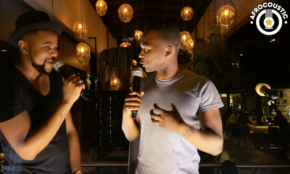 Thabo chats to WIll Rayz