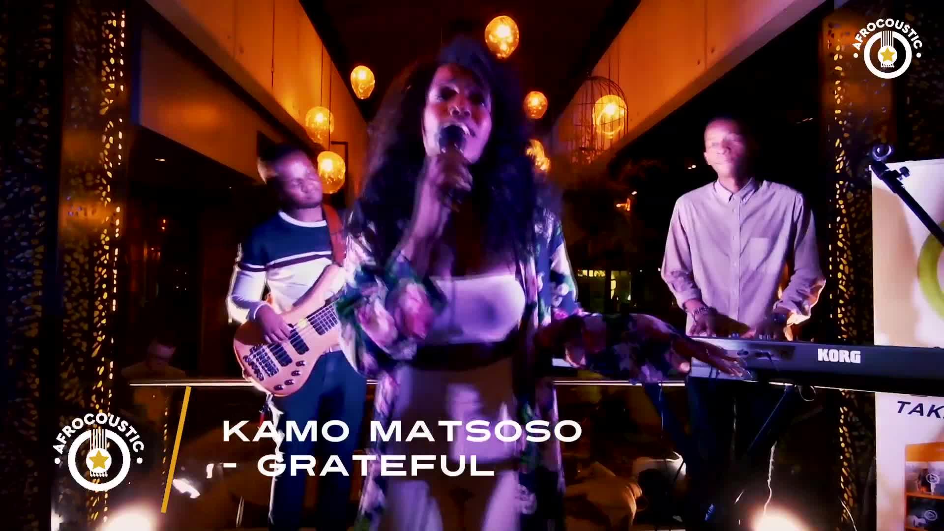 Afrocoustic - Kamo Matsoso - Interview