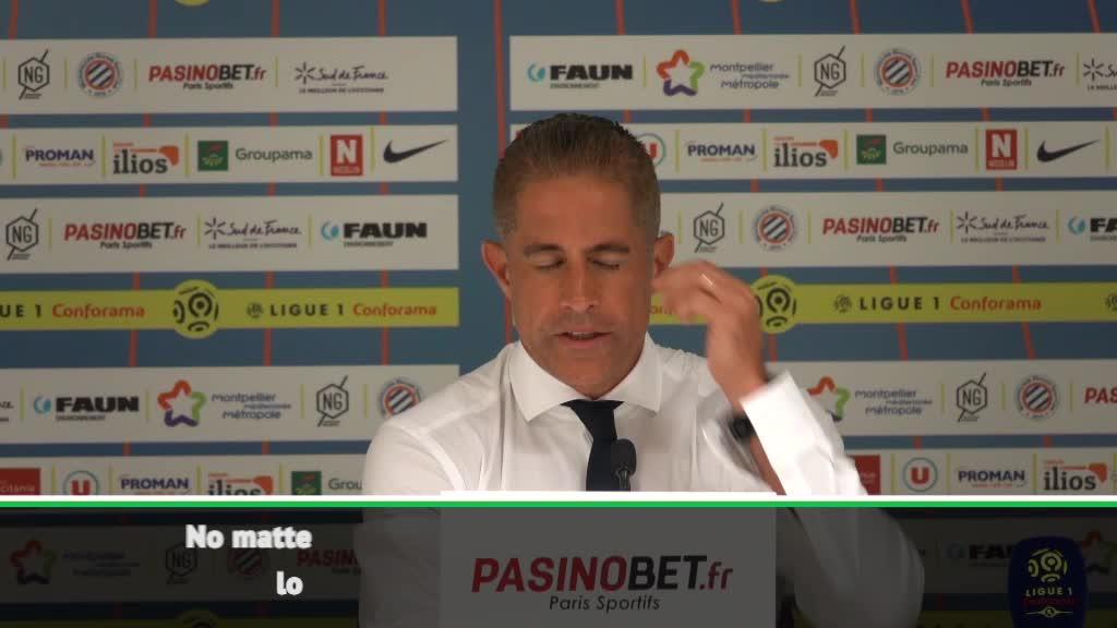 We gave Montpellier too many chances - Sylvinho