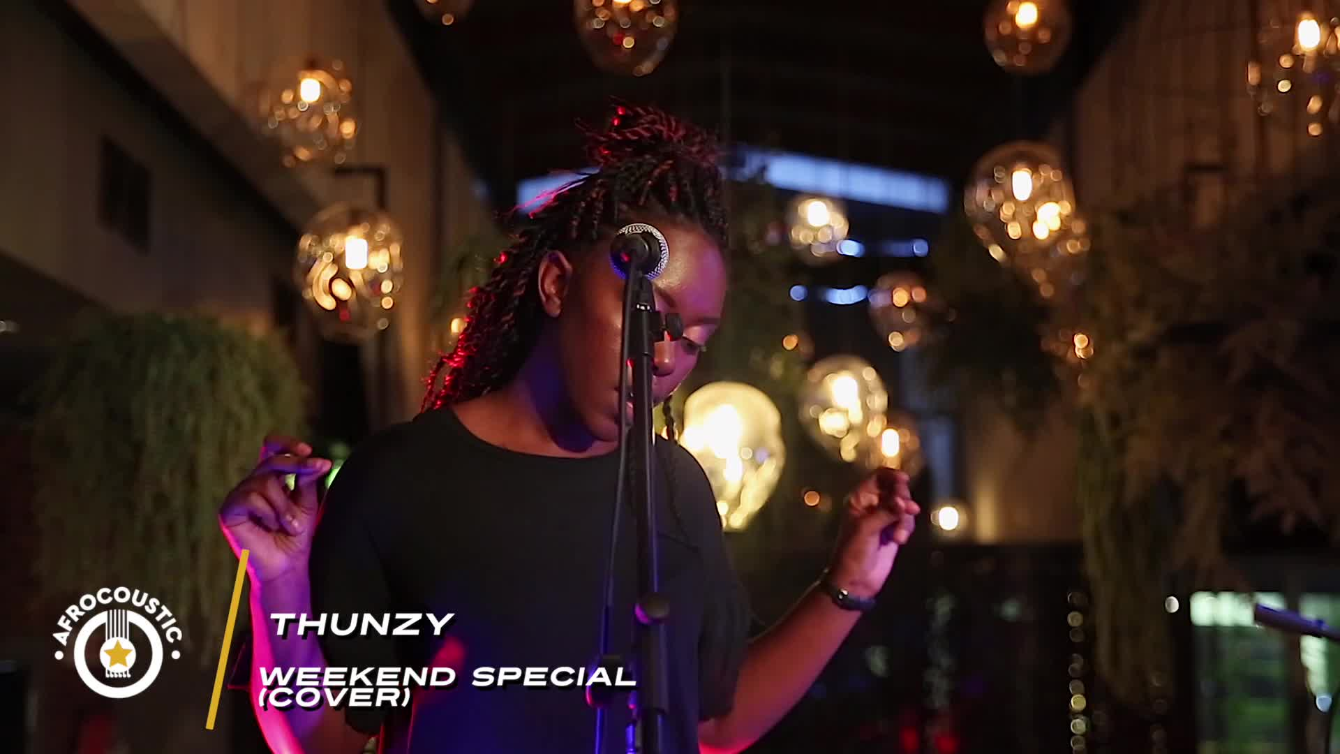 Afrocoustic - Thunzy - Weekend Special