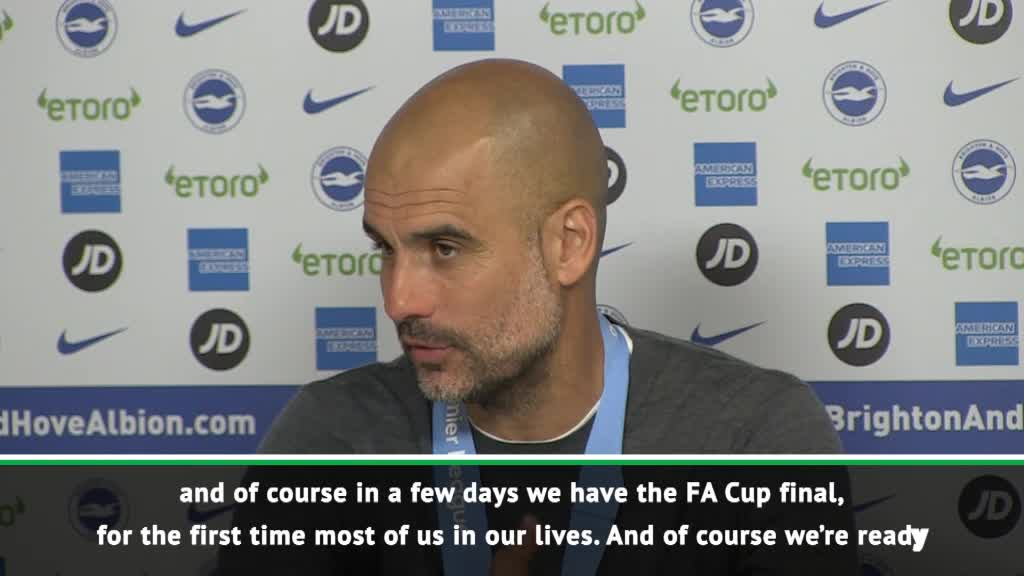I'm so tired but winning titles is addictive! - Guardiola