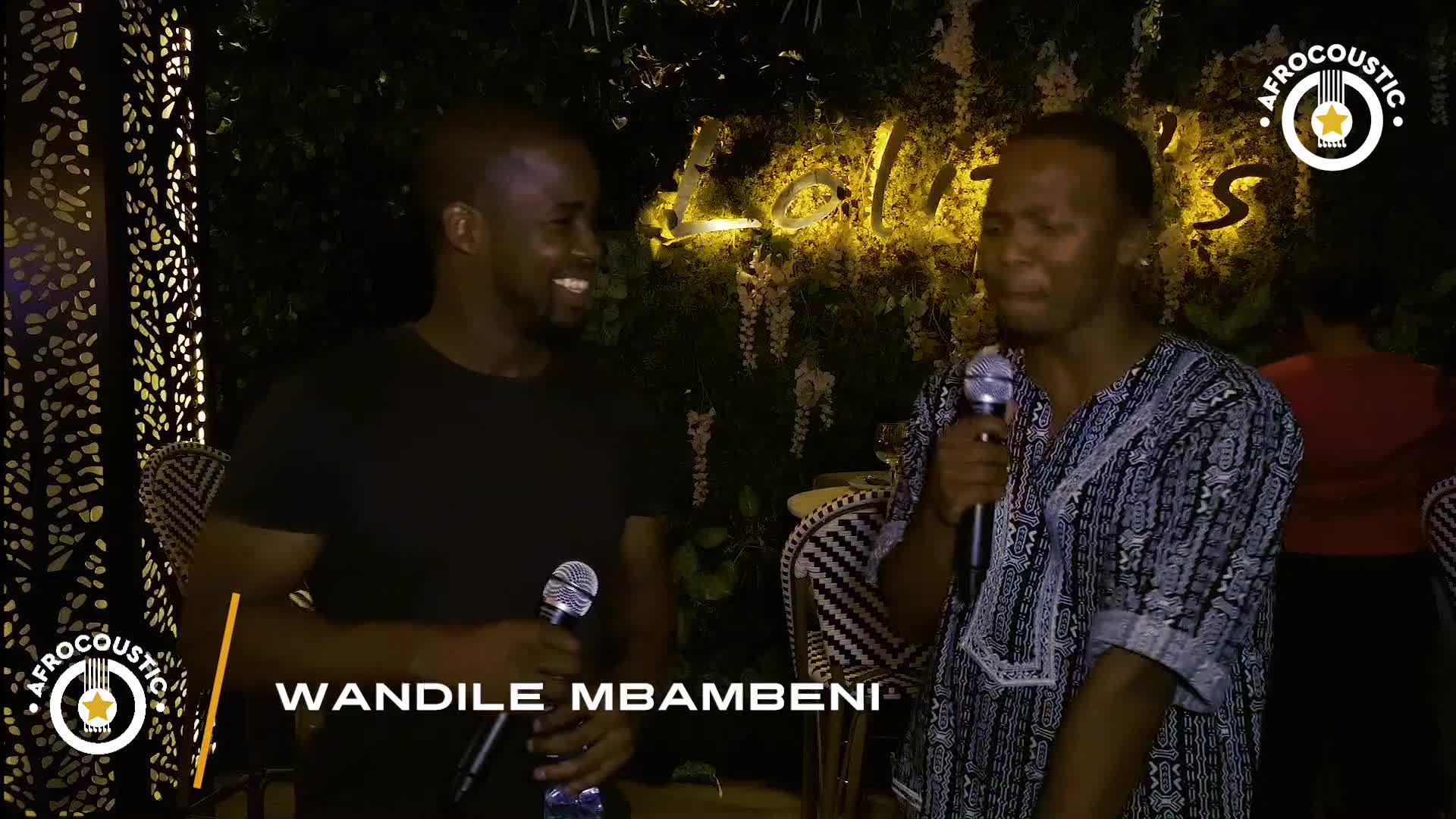Afrocoustic - Wandile Mbambeni - Interview