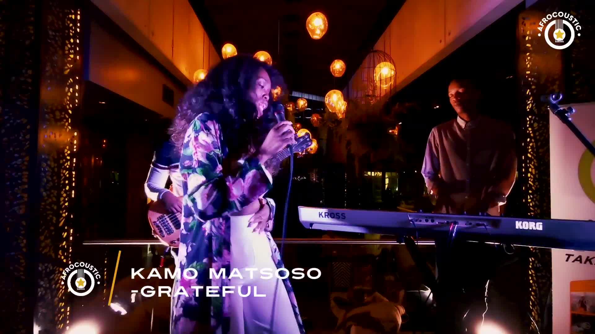 Afrocoustic - Kamo Matsoso - Grateful