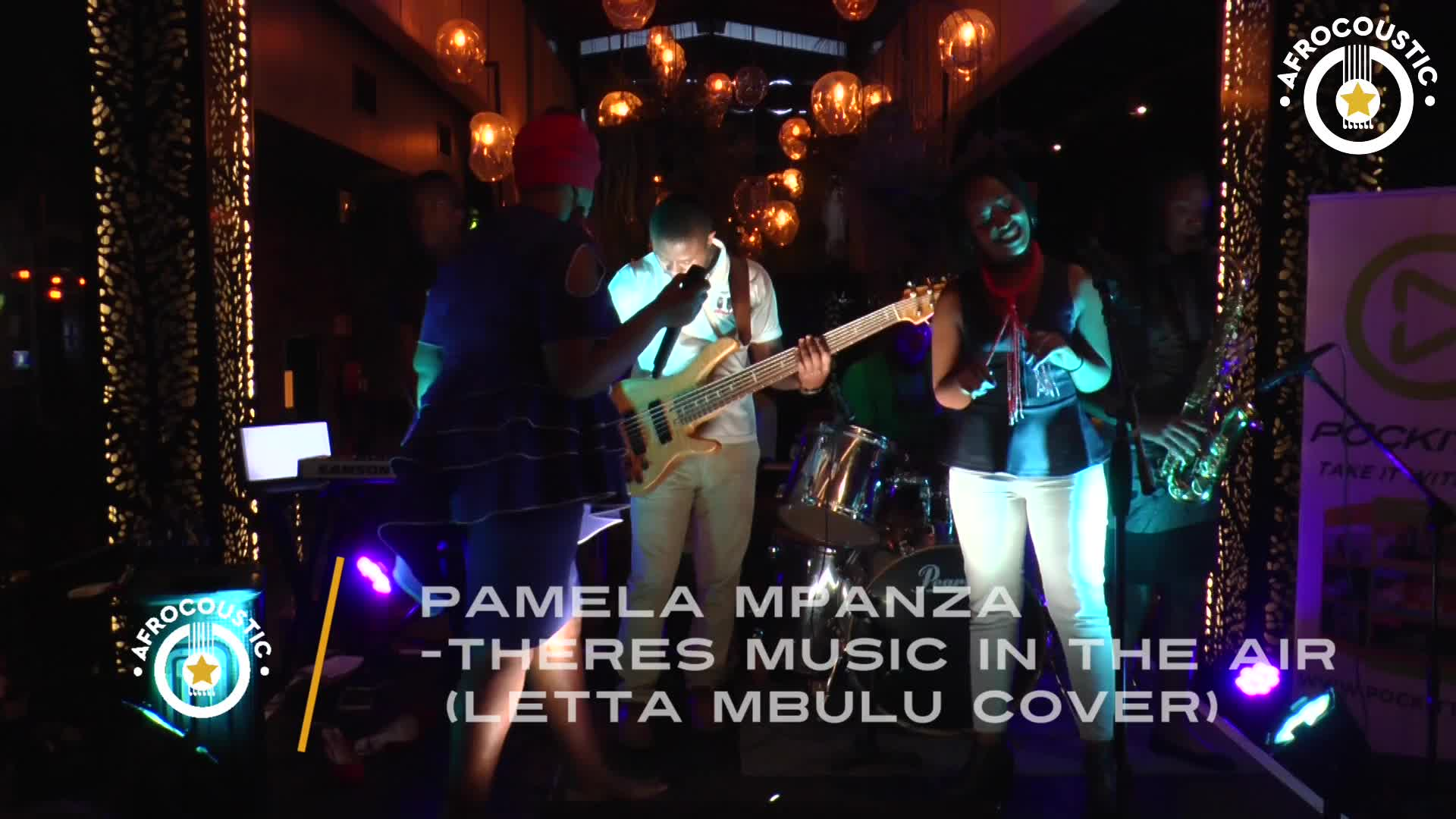 Afrocoustic Pamela Mpanza - Music In the Air LETTA MBULU(cover)