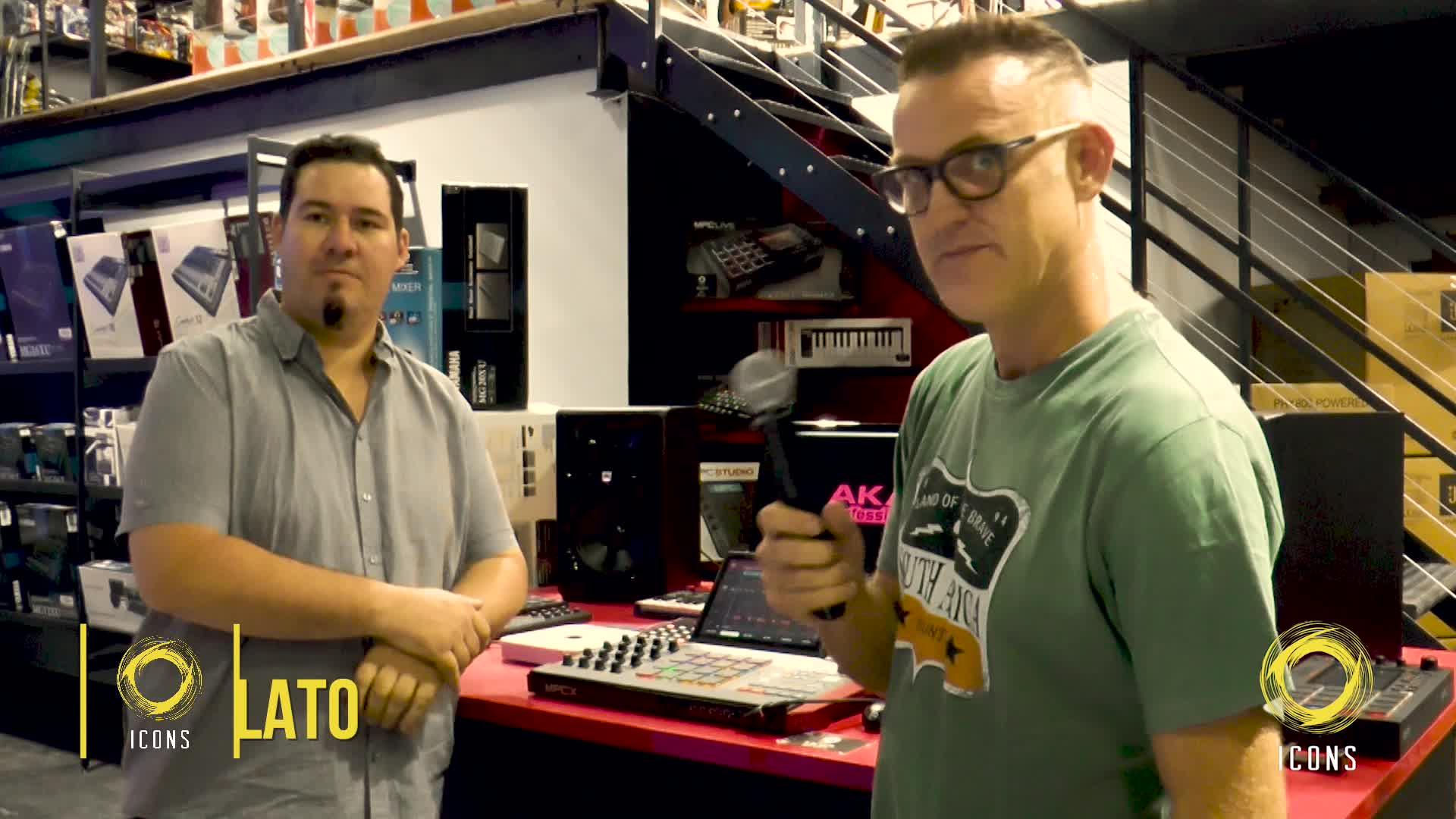 Icons TV - Akai Pro - Dave Skinz