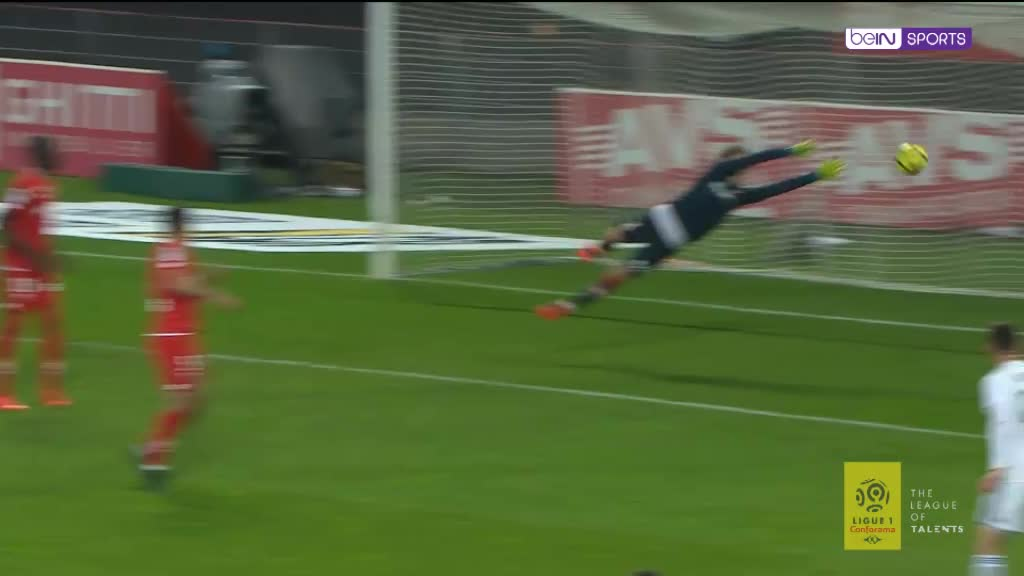 Top 5 saves in Ligue 1: Matchday 36