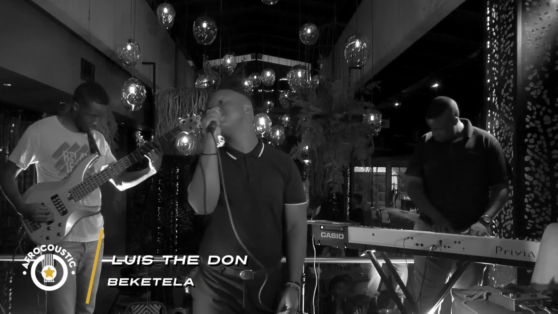 Afrocoustic - Luis The Don - Beketela