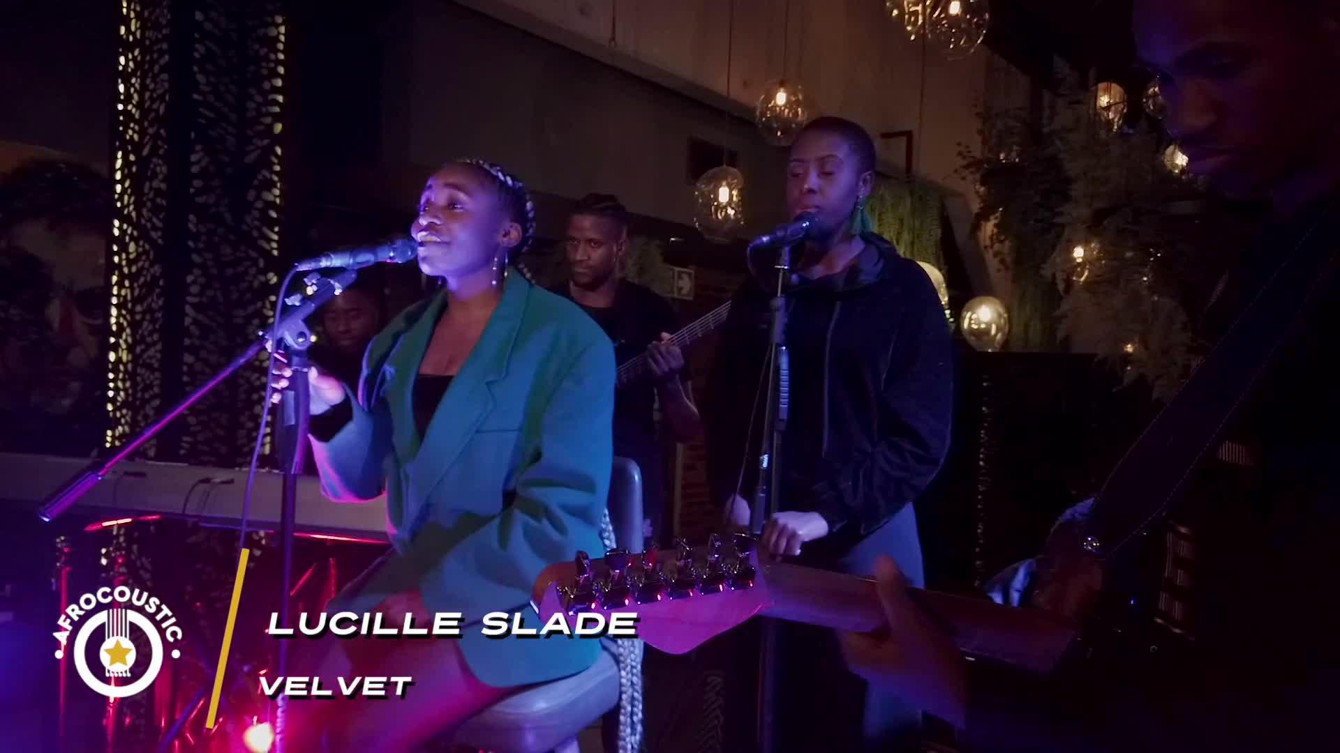 Afrocoustic - Lucille Slade - Velvet