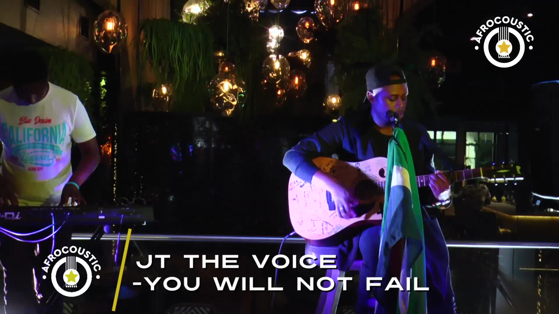 Afrocoustic - JT The Voice - You Will Not Fail