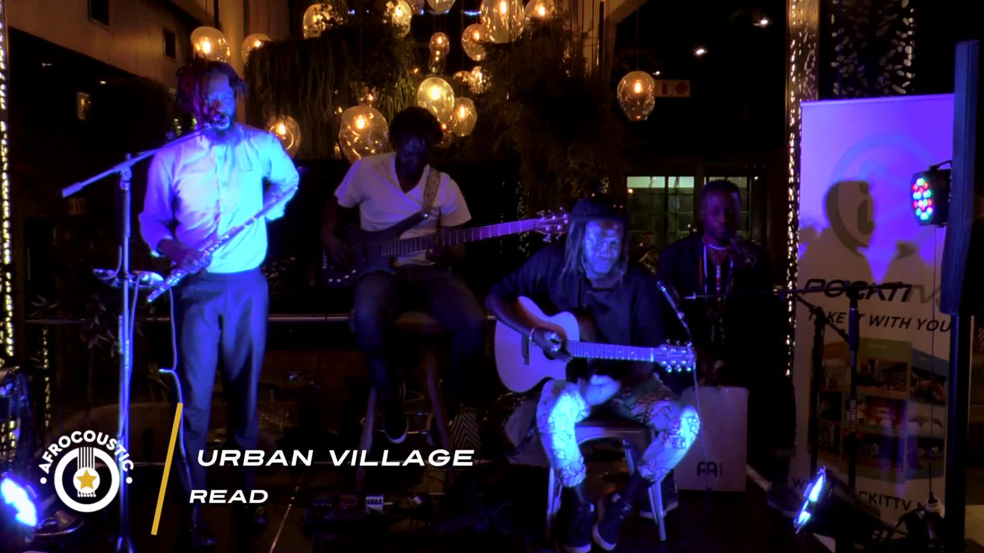 Afrocoustic - Urban Village - Read