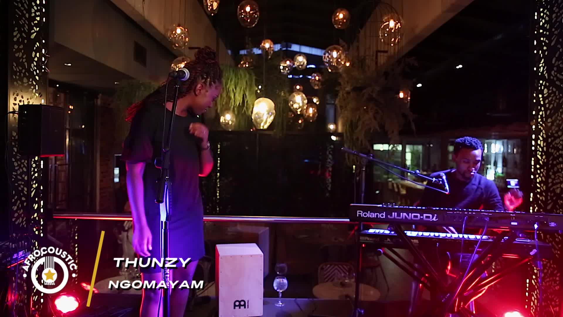 Afrocoustic -Thunzy - Ngomayam