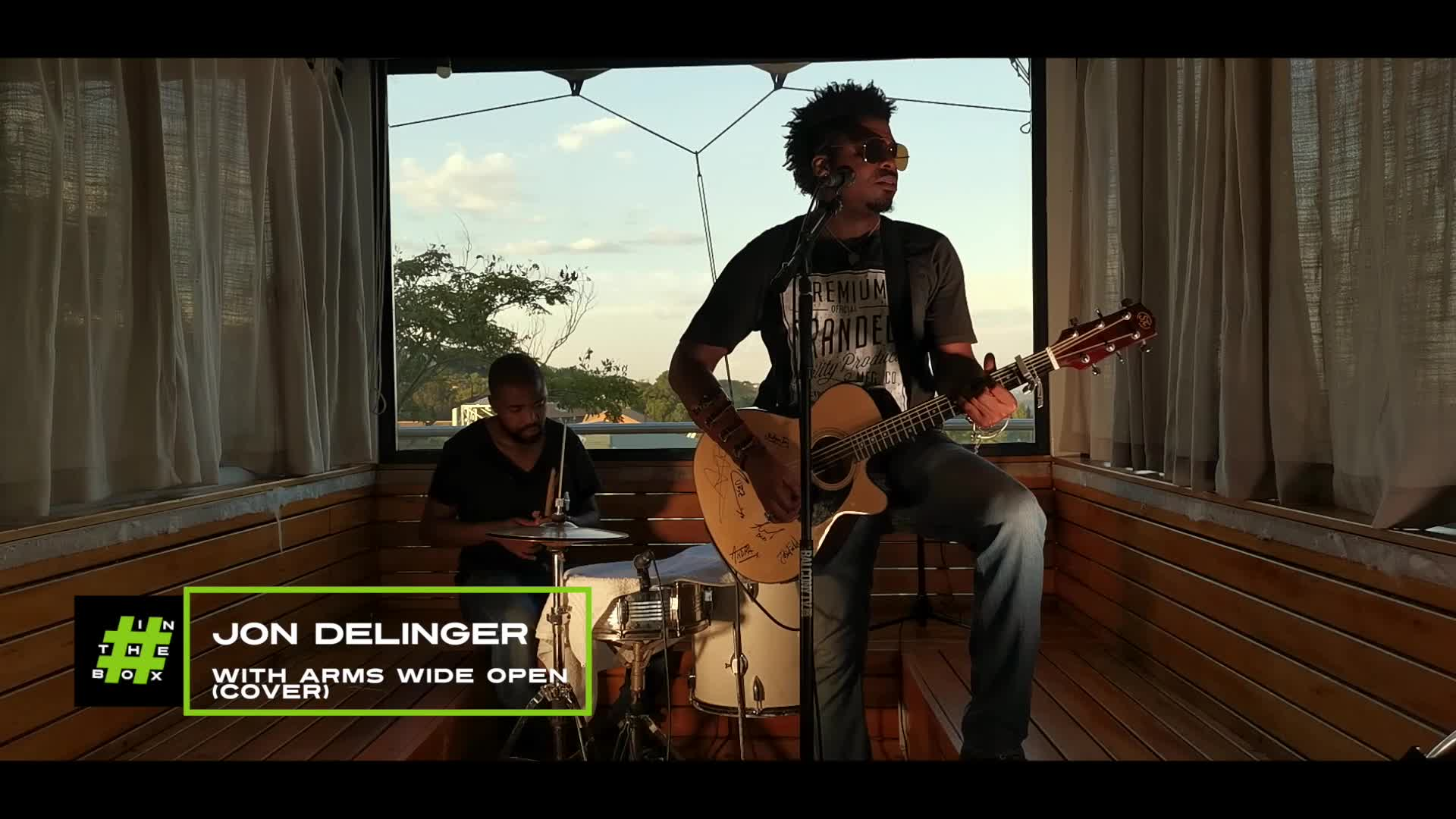 InTheBox - Jon Delinger - With Arms Wide Open
