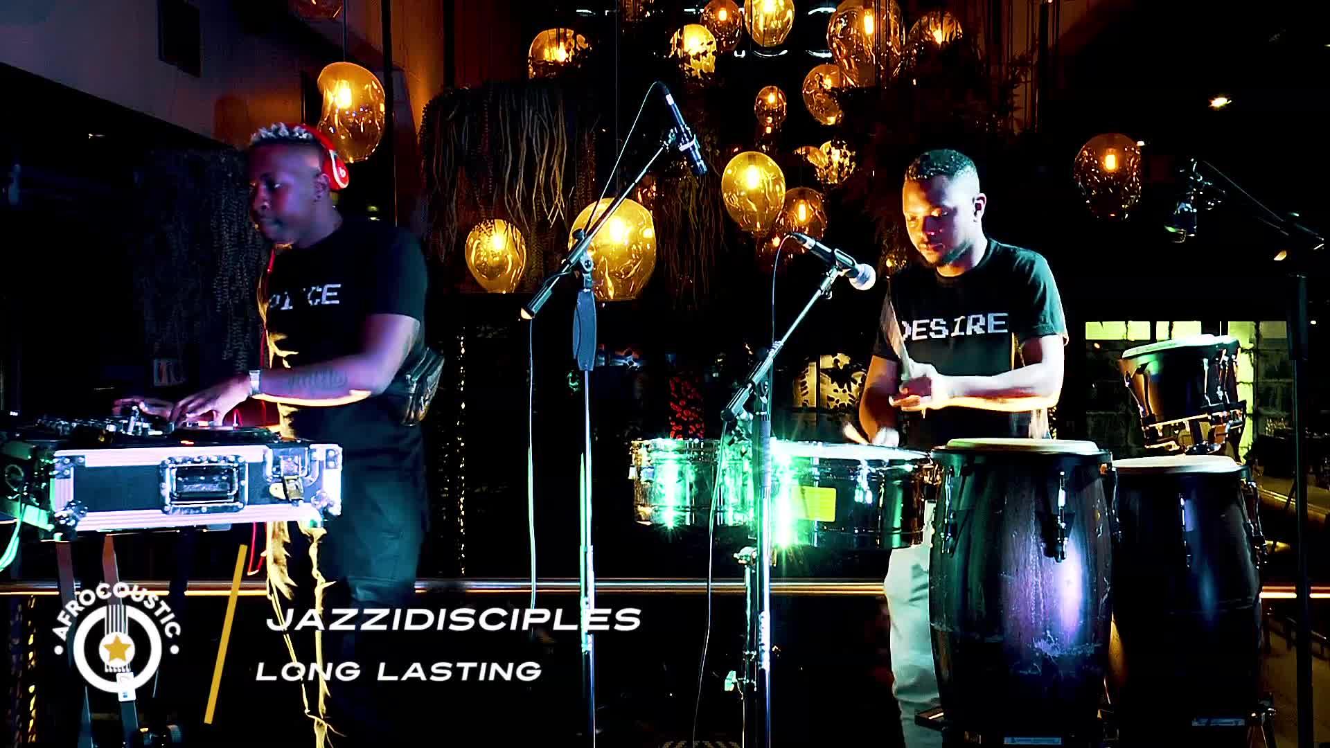 Afrocoustic JazziDisciples - Long Lasting