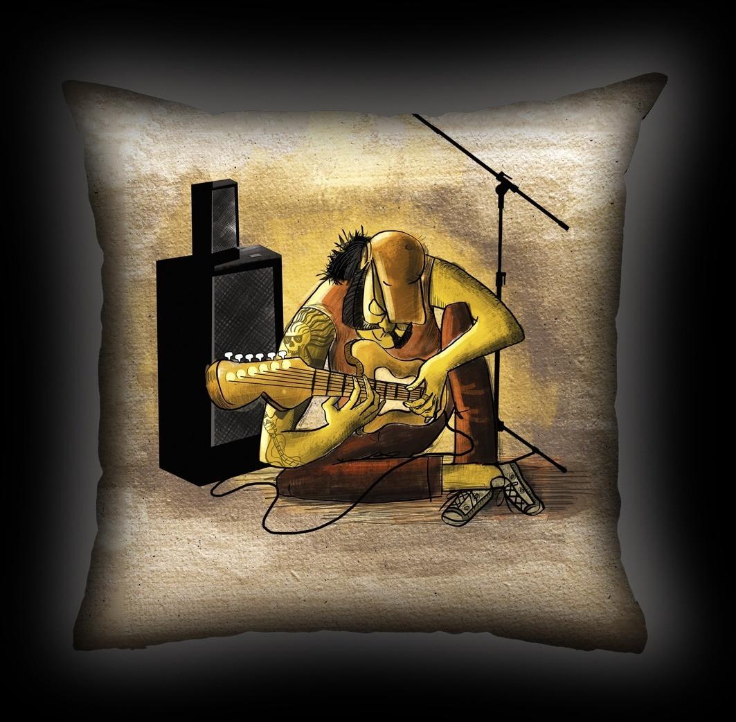 Almofada Ale Graziani - O Deus Da Guitarra