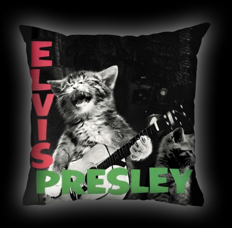 Almofada Pet Use - Cat Presley - Gato