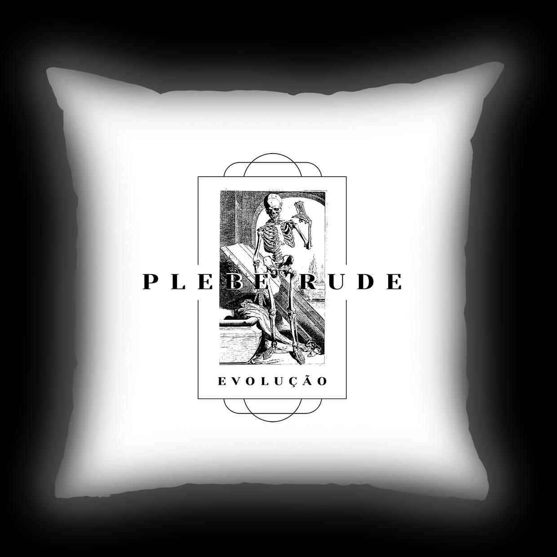 Almofada Plebe Rude - Evolução (Branca)