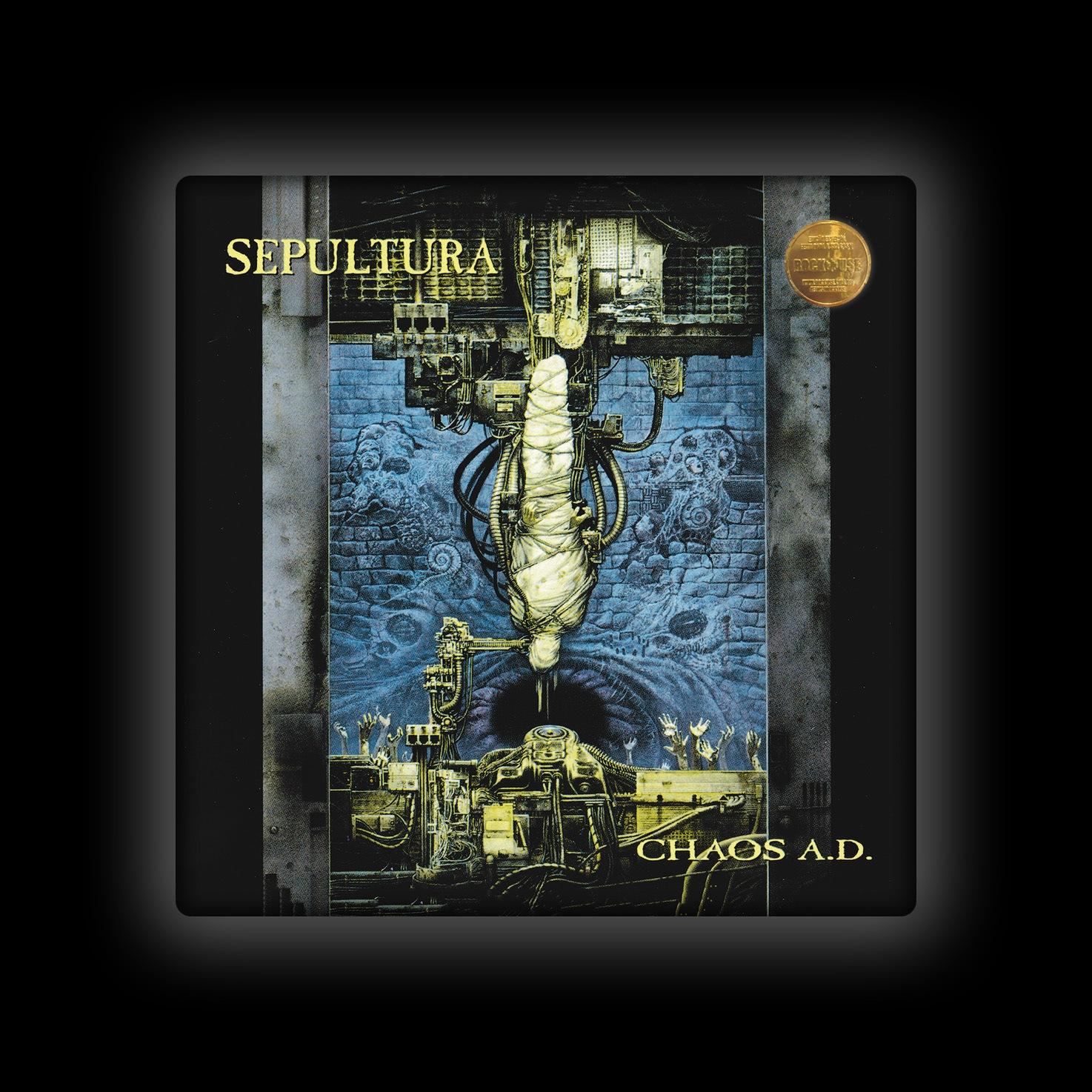 Capa de Almofada Sepultura - Chaos A.D.