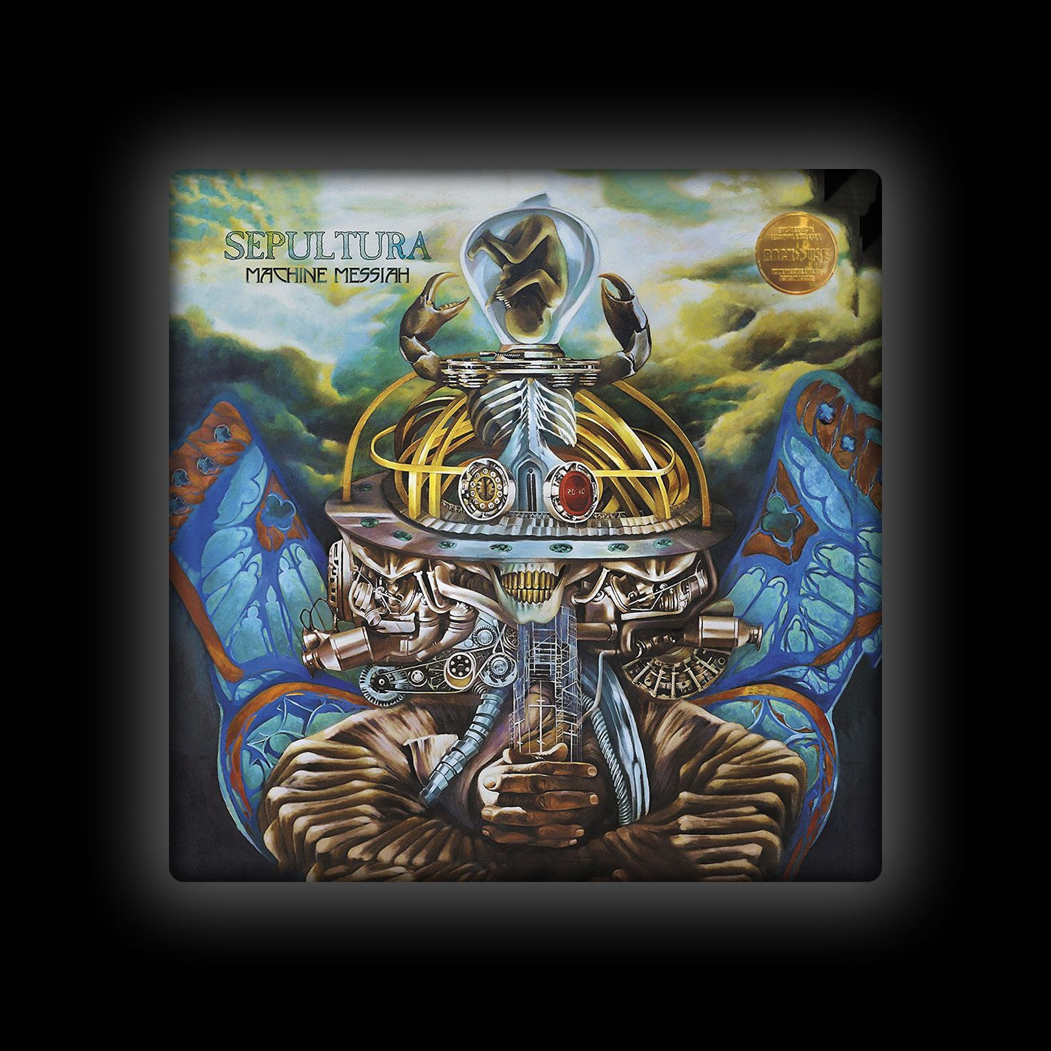 Capa de Almofada Sepultura - Machine Messiah