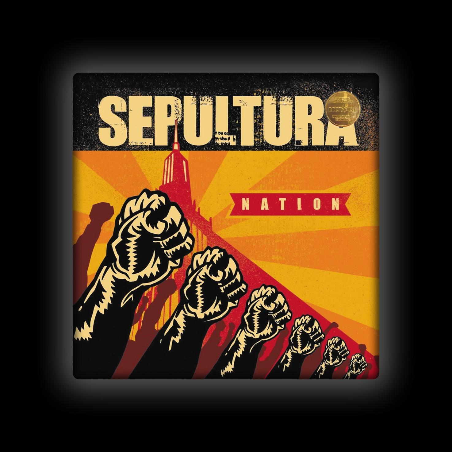 Capa de Almofada Sepultura - Nation