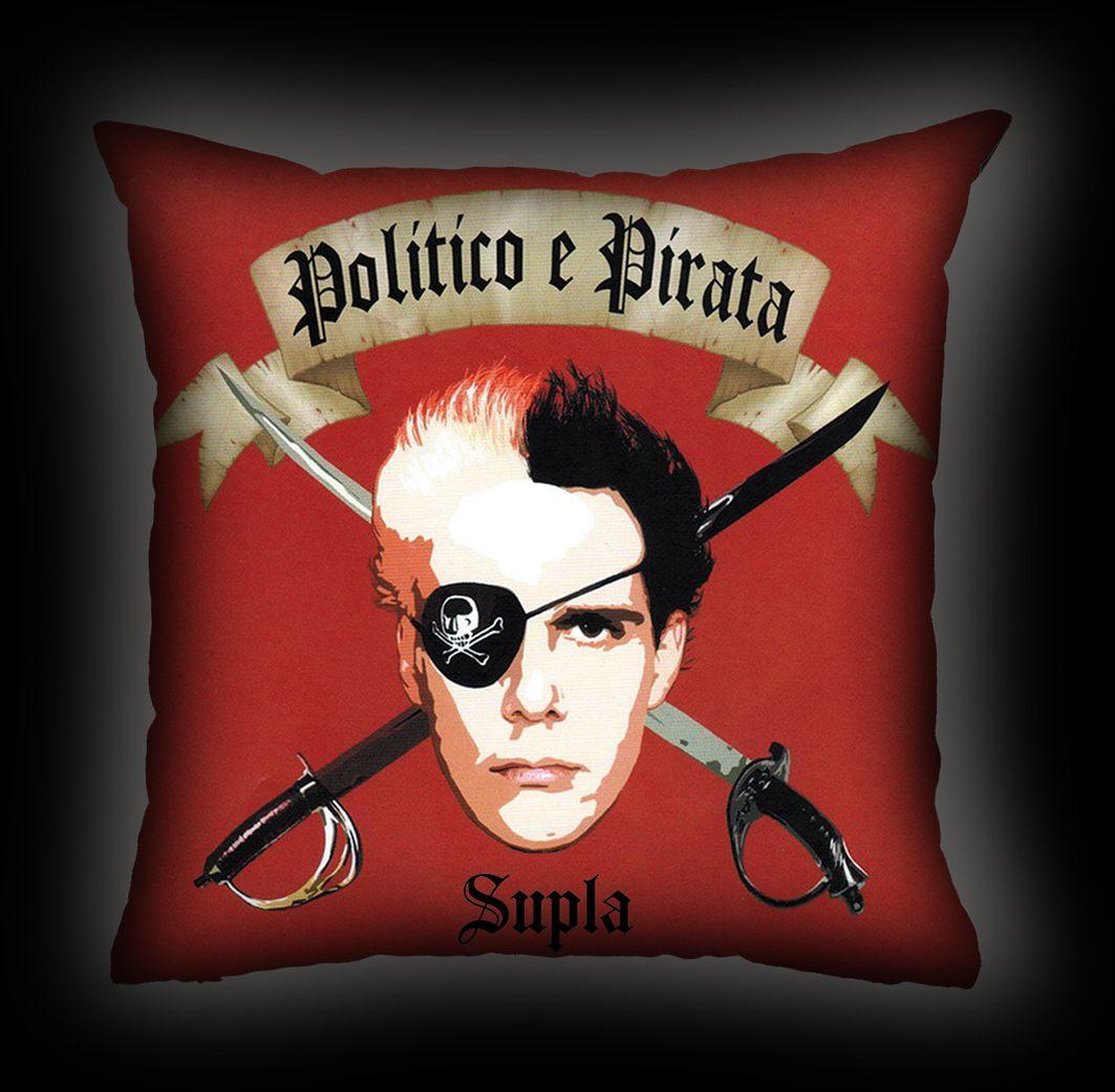 Almofada Supla - Político Pirata