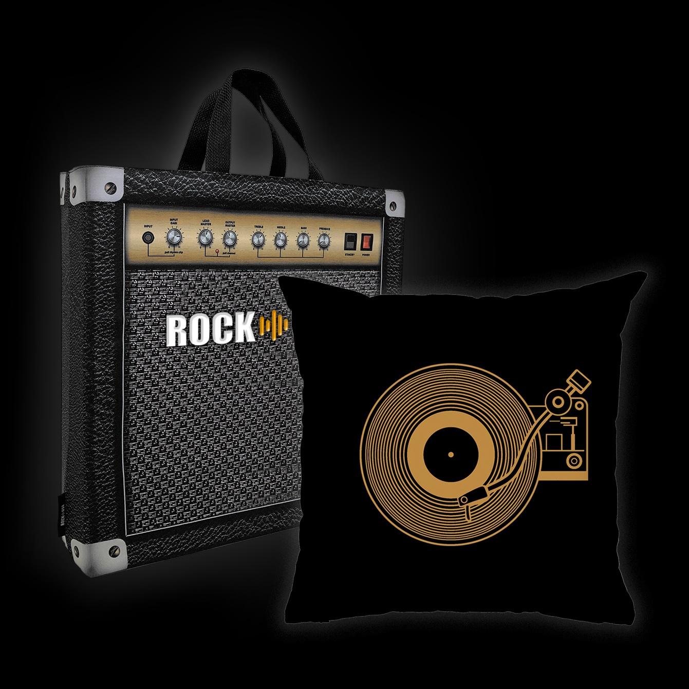 Almofada Rock Use - Vitrola