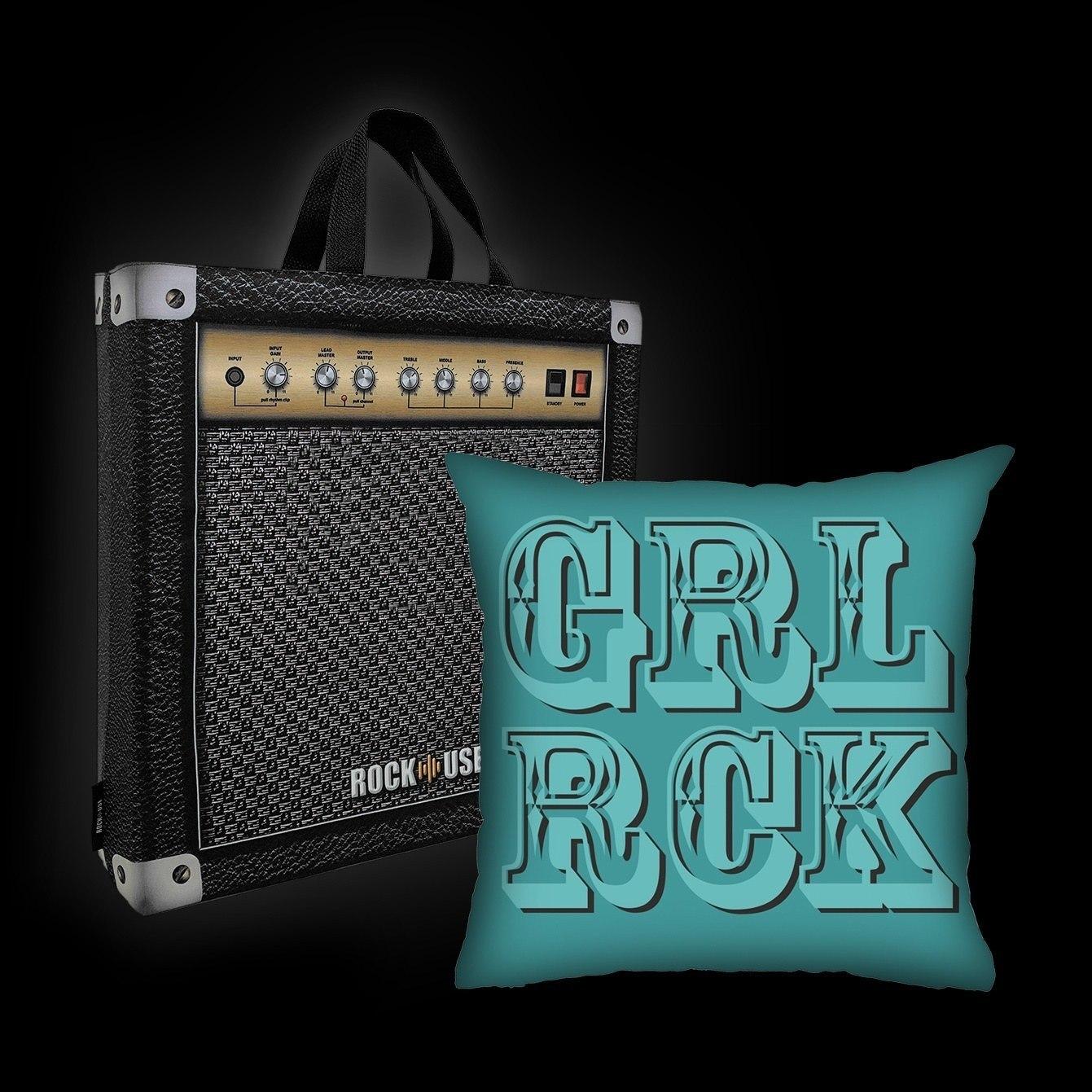 Kit Almofada & Sacola Bia Lombardi - Girl Rock