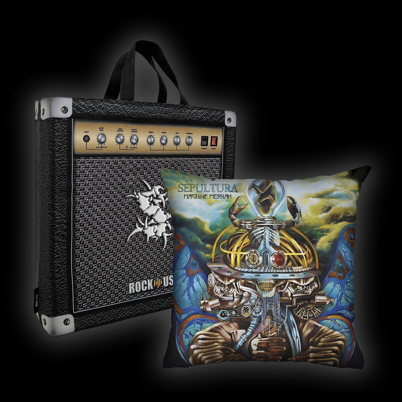 Kit Almofada & Sacola Sepultura - Machine Messiah